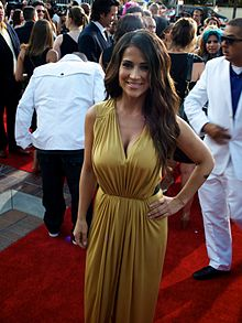 Jackie Guerrido, Alma Awards 2012 Red Carpet Arrivals.jpg