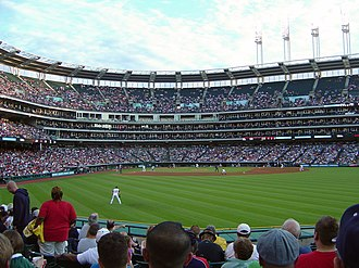 Progressive Field - View from Right Field
