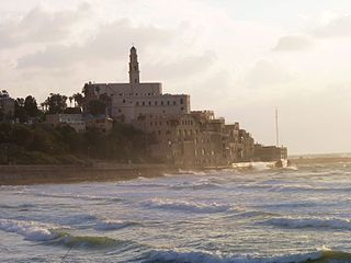 Jaffa old part of the city of Tel Aviv-Yafo