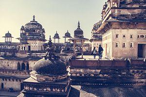 Orchha - Jahangir Mahal, Orchha