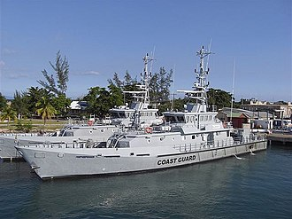 Illegal, unreported and unregulated fishing - Patrol vessels like this Jamaican Coast Guard vessel are used for fisheries' protection.