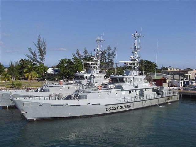 Jamaican Coast Guard patrol vessels built to a Damen Stan design -a