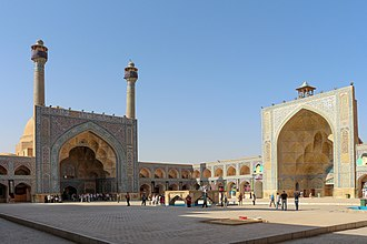 Jameh Mosque of Isfahan - Image: Jameh Mosque of Isfahan 01