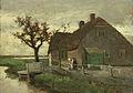 Jan Hendrik Weissenbruch - Boerenhuis aan een vaart.jpg