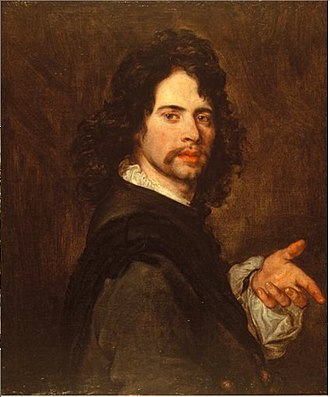 Jan van den Hoecke - Self-portrait
