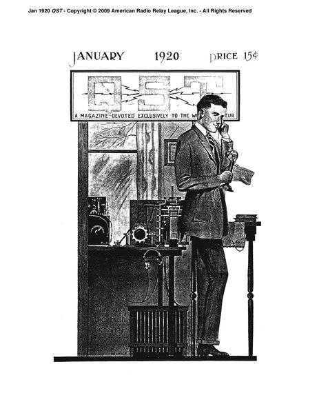 File:January 1920 QST.djvu