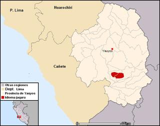 Jaqaru language