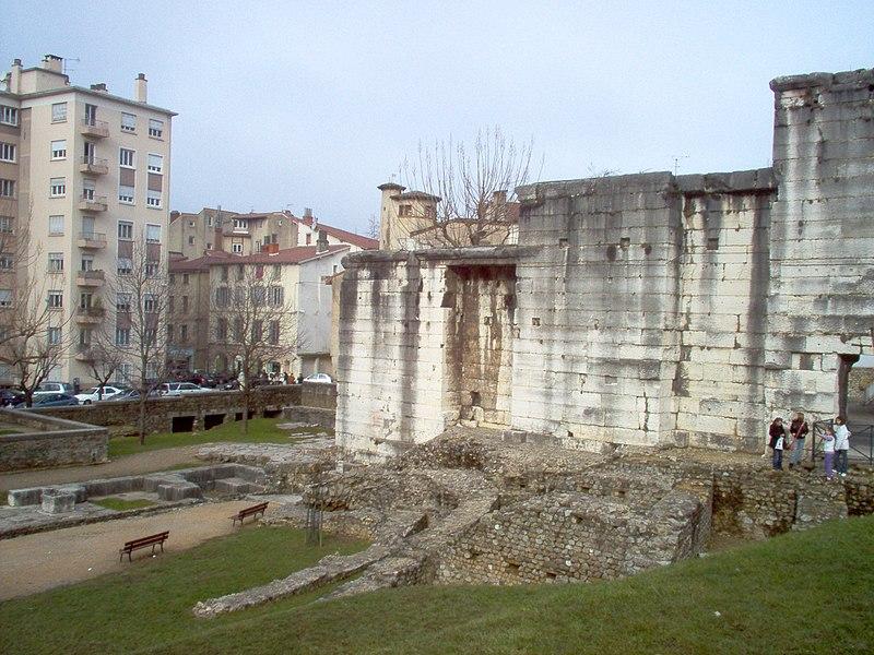 Jardin Archéologique de Cybèle (entre rue Henri jacquier et passage Saint-André, F-38200, Vienne