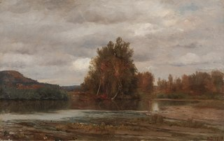 Gray Day on the Esopus