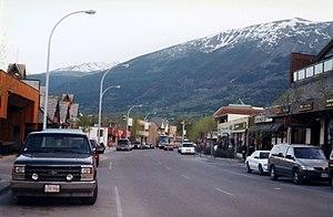 Jasper, Alberta - Downtown Jasper