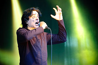 Jaz Coleman - Jaz Coleman performing at the 2009 Ilosaarirock festival.