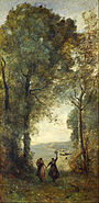 Jean-Baptiste Camille Corot - Reminiscence of the Beach of Naples - Google Art Project.jpg