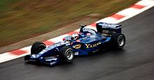 Photo de la Prost AP03 d'Alesi en Belgique