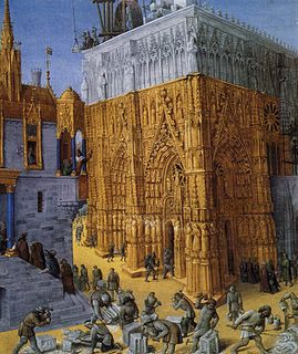 Building a Gothic cathedral