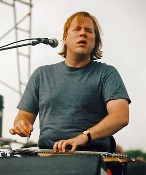 Jeff Healey - Healey performing on August 31, 2002
