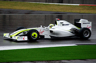 2009 Chinese Grand Prix - Jenson Button maintained his championship lead by finishing in third place.