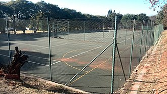 Jeppe High School for Girls - The netball courts