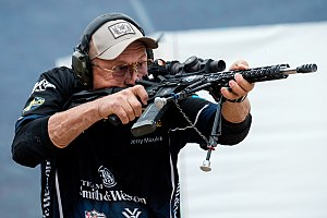 Jerry Miculek - Jerry Miculek at the 2017 IPSC Rifle World Shoot in Moscow, Russia