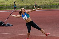 Jessica Ennis -Dorothy Hyman Sports Centre, Cudworth, South Yorkshire, England-13May2012 (4).jpg