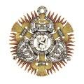 Jesu namns ordenstecken, 1655 - Livrustkammaren - 98916.tif