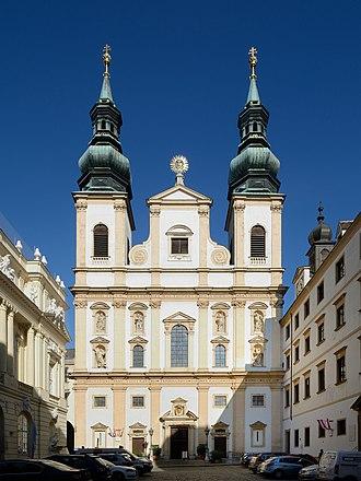 Jesuit Church, Vienna - Jesuit Church in Vienna, Austria