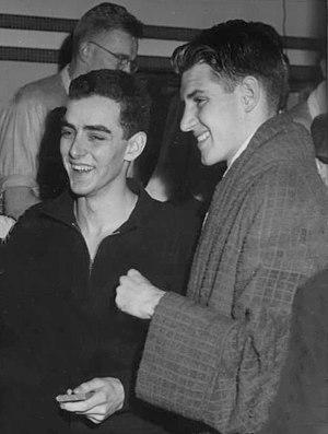 Jimmy McLane - McLane (left) in 1950