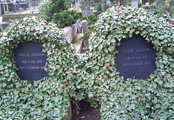 Amalie's and Joseph's grave in Berlin-Charlottenburg (Source: Wikimedia)