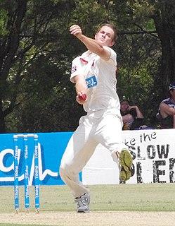 Joe Mennie Australian cricketer