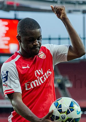 Joel Campbell - Campbell with Arsenal in 2014