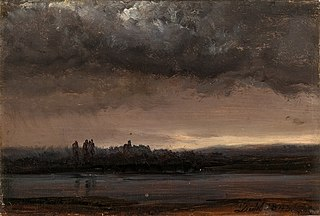 Cloud Study over the Elbe