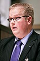 Johan Ehn talar vid Nordiska Radets session i Helsingfors 2008-10-27.jpg