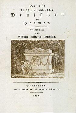 Johann Jacob Bodmer - Briefe an ihn.jpg
