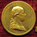 Johann nepomuk würth, med. di leopoldo II imp, 1790-92 ca, oro.JPG