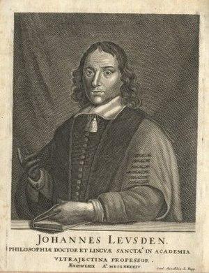 Johann Leusden - Johannes Leusden