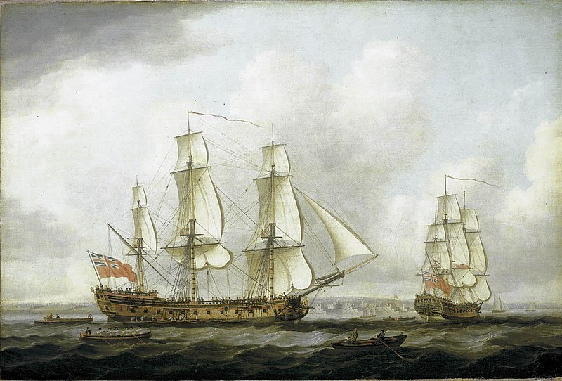 File:John Cleveley the Elder - The East Indiaman 'Princess Royal'.jpg
