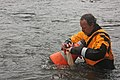John Fridell bags a mussel (7067522855).jpg