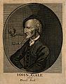 John Gale, known as Dumb Jack, a deaf mute. Line engraving. Wellcome V0007322ER.jpg