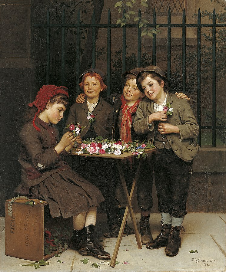 File:John George Brown - Tough Customers.jpg