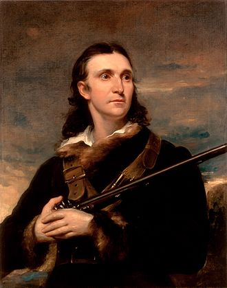 John James Audubon - Portrait of Audubon by John Syme, 1826