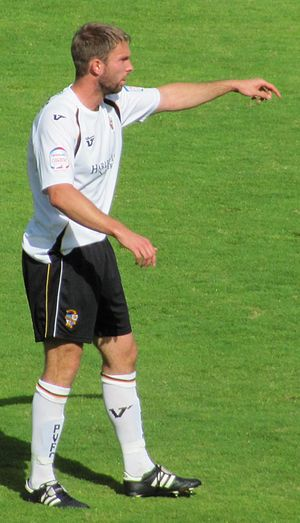 John McCombe - McCombe playing for Port Vale in 2010