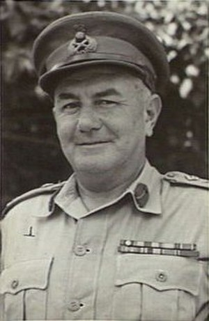 John Murray (general) - NX365 MAJOR-GENERAL J.J. MURRAY, DSO, MC, VD, HEADQUARTERS FIRST ARMY, 29 September 1944