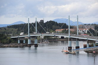 John O'Connell Bridge - The John O'Connell Bridge over the Sitka Channel