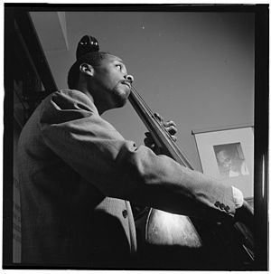 John Simmons (musician) - John Simmons, ca. July 1947  Photograph by William P. Gottlieb.