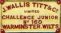 John Wallis Titt & Co. Challenge Junior name plate.jpg