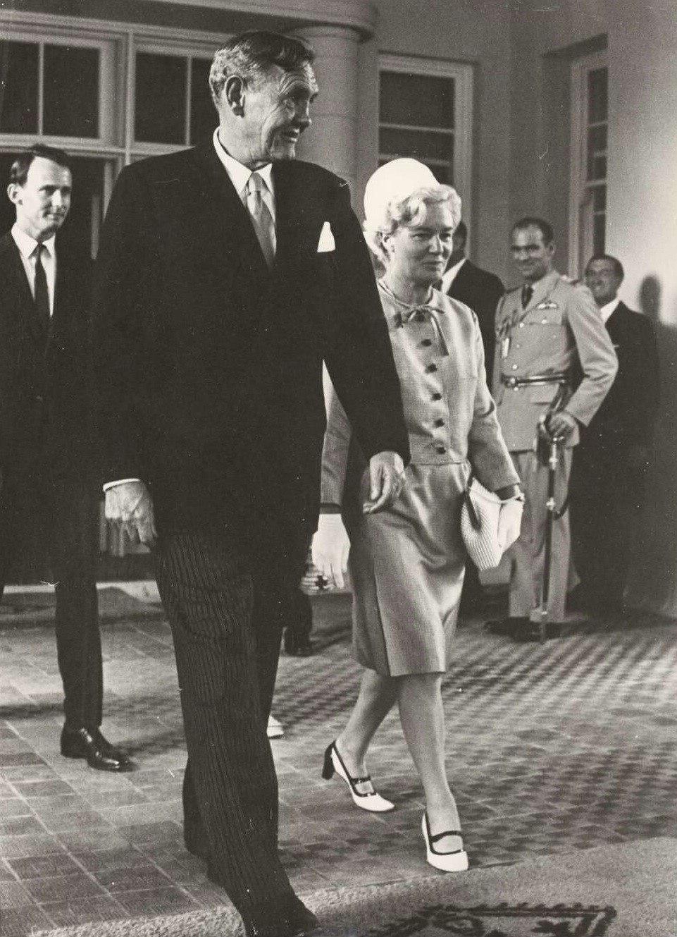 John and Bettina Gorton