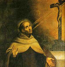 San Giovanni della Croce in un dipinto anonimo del XVII secolo