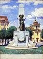José Wasth Rodrigues - Monumento a Bartolomeu de Gusmão em Santos (Face Posterior), Acervo do Museu Paulista da USP.jpg