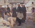 Joseph-Félix Bouchor (1853-1937) - Le marché aux cochons d'Auray.png