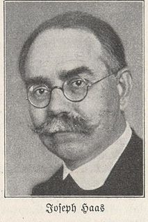 Joseph Haas German composer and music teacher