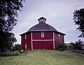 Joshua Secrest's octagonal barn near West Branch, Iowa.jpg